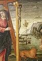 Bernardo parentino, cristo portacroce tra i ss. girolamo e agostino, 1492-96 ca. 03.jpg