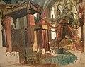 Bertalan Szekely coronation of Franz Josef I in matthias church 1867 IMG 0245.JPG
