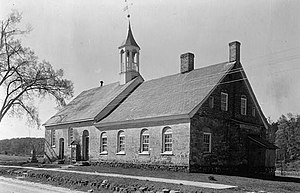 National Register of Historic Places listings in Forsyth County, North Carolina - Image: Bethabara Moravian Church, 2147 Bethabara Road (State Route 1681), Old Town (Forsyth County, North Carolina)