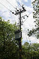 Betts Lane electricity pole at Nazeing, Essex, England.JPG
