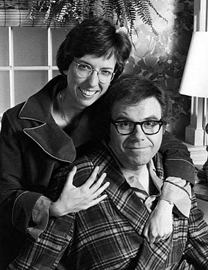 Oliver Clark - Clark with Beverly Archer in We've Got Each Other, 1977.