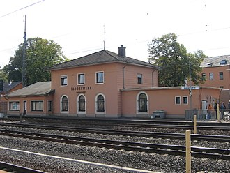 Langerwehe station - Former station building