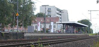 Hochdahl station - Image: Bf Hochdahl