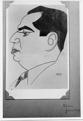 Bhai Pratap Dialdas - Image: Bhai Pratap. Caricature Drawing