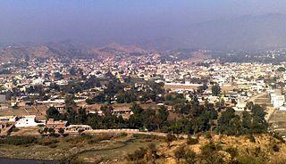 Bhimber Place in Azad Kashmir, Pakistan