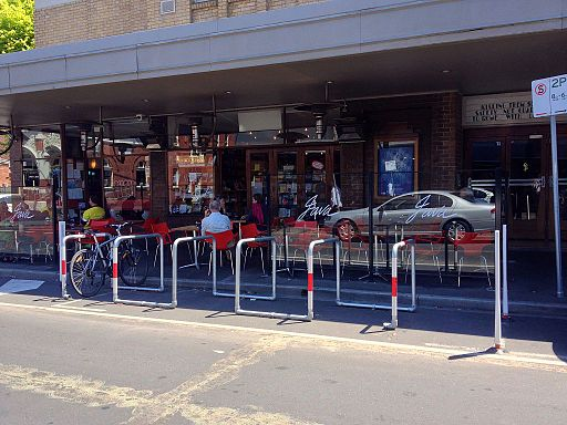 "Bicycle ""Corral"", Yarraville, Victoria"