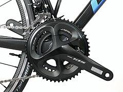 Vélo Pédalier Vitesse Unique Piste FIXE vélo manivelle Noir Set Métal chainring