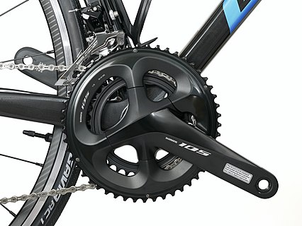 Bicycle crankset Shimano 105 R7000