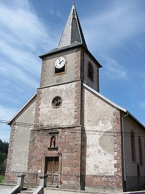 Biffontaine - Image: Biffontaine 88 église