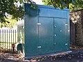 Big Green Metal Thing near Hillsborough Park - geograph.org.uk - 1010789.jpg