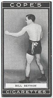 Bill Beynon Wales boxer