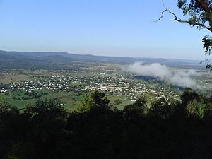 Bingara, New South Wales - View from HF Batterham Memorial Lookout