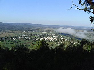 Bingara, New South Wales - View from HF Batterham Memorial Lookout