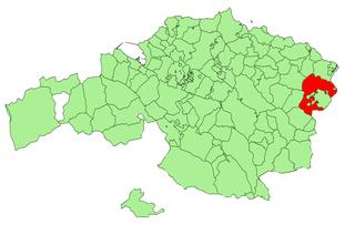 Markina-Xemein Municipality in País Vasco, Spain