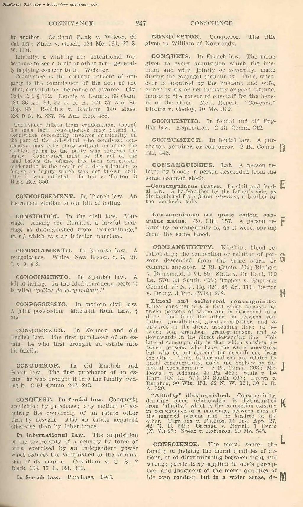 PageBlacks Law Dictionary Second Editiondjvu 255