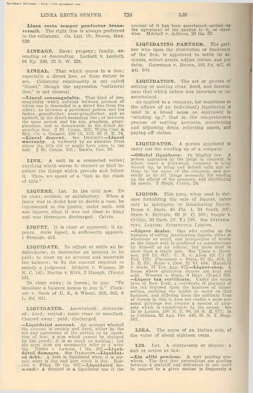Liquidating agreement definition dictionary