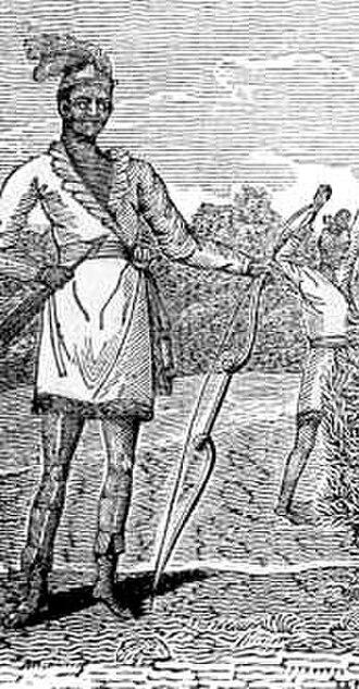 Black Seminoles - Image: Black sem detail 1st war