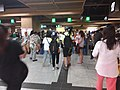 Black dark night 香港反對逃犯條例 Anti-HK bill demo against extradition bill protect MTR Station visitors July 2019 SSG 11.jpg