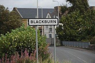 Blackburn, West Lothian - Image: Blackburn Daily Record Image