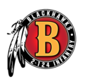 Blackhawk Symbol for Company B, 2d Battalion, 124th Infantry.png