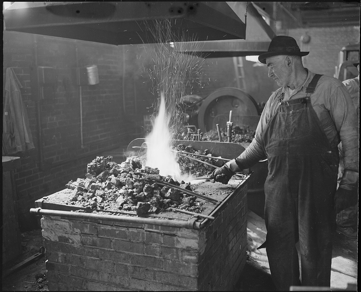 File Blacksmith And His Forge The Pocahontas Corporation