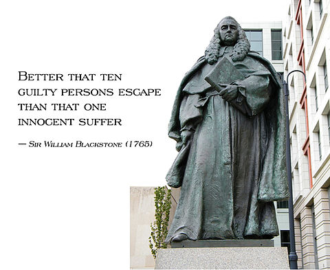 It is better that ten guilty persons escape than that one innocent suffer