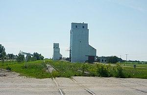 Blaine Lake - Grain elevators