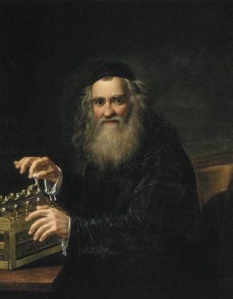 Antoni Blank - Portrait of Abraham Stern (1823)