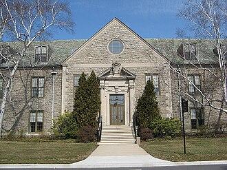Connecticut College - Blaustein Humanities Center