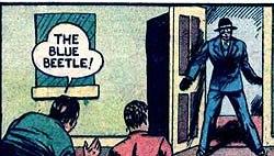 Blue Beetle Mystery Men