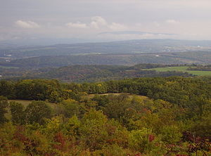 Bedford County, Pennsylvania - View from Glade Pike on Dry Ridge.