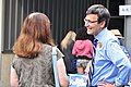 Bob Ferguson greeting supporter outside his 2017 Shrimp Feed.jpg