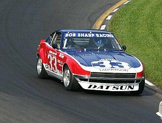 Bob Sharp (racing driver) - Sharp's Datsun