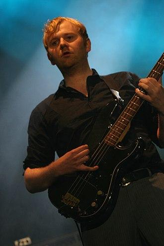 Bob Hardy (bassist) - Bob Hardy at Latitude Festival