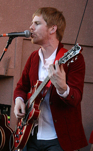 Bob Morris (musician) - Bob Morris performing on April 13, 2008 on the Honda Civic Tour