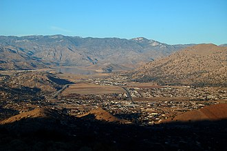 Lake Isabella, California - View of Lake Isabella from Caliente-Bodfish Road west of town.