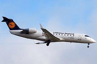 Bombardier CRJ100/200 - Lufthansa CityLine was the CRJ100 Launch operator