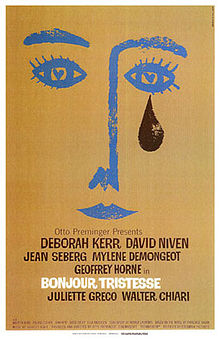 Description de l'image  Bonjour Tristesse film poster.jpg.