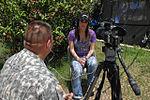 Bonnie-Jill Laflin visits troops in Haiti DVIDS266869.jpg