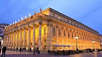 Franz Ignaz Beck - Grand Théâtre de Bordeaux (Modern view)