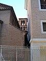 Borgo - Il campanile di S. Lorenzo in Piscibus.JPG