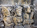 Borobudur - Divyavadana - 083 N, A Stupa is raised over Ven Mahakatyayana's Goblet (detail 2) (11706557786).jpg