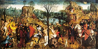 Martyrdom of Saints Crispin and Crispinian