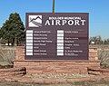 Boulder Municipal Airport directory sign.JPG