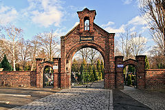 Brama cmentarza