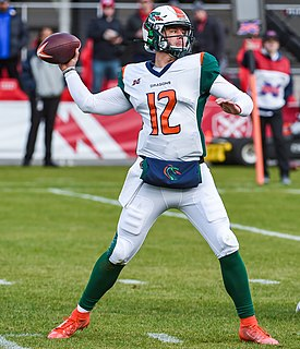 Brandon Silvers American football quarterback