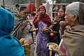 Breakfast - Gangasagar Fair Transit Camp - Kolkata 2013-01-12 2665.JPG