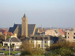 Bredene Municipality in Flemish Community, Belgium