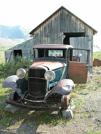 National Register of Historic Places listings in Valdez–Cordova Census Area, Alaska - Image: Bremner Mining Camp Mechanic's Shop