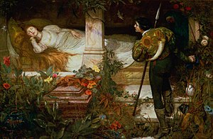 The Sleeping Beauty Quartet - Sleeping Beauty by Edward Frederick Brewtnall